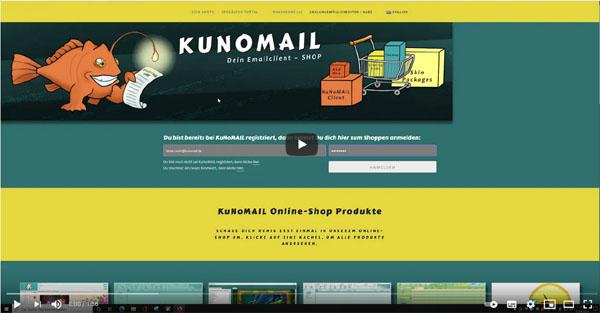 KUNOMAIL - Aktivierung löschen