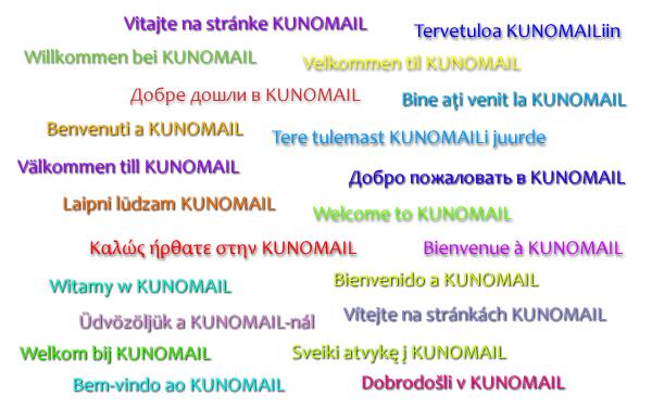 KUNOMAIL - 22 Languages, Standard Account & Groups (Tutorial)