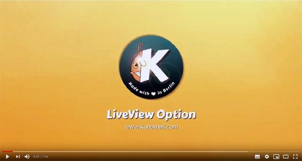 KuNoMAIL LiveView