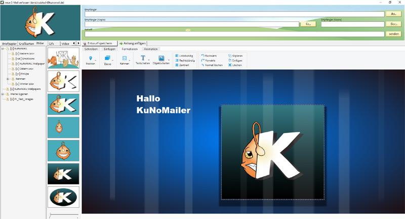 KuNoMAIL Magic Editor